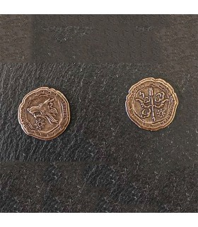 Currency of the Orcs, bronze finish