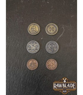 Currency of the Pirates, silver finish