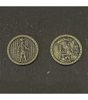 Currency of Ancient Egypt, gold finish