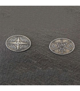 Currency of the Barbarians, silver finish