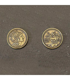 Coin of the Romans, gold finish