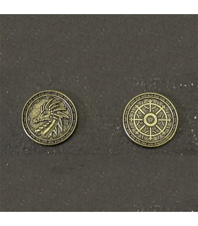 Coin of the Magi, gold finish