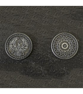 Coin of the Magi, silver finish