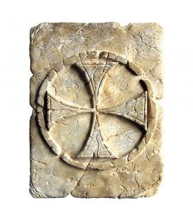 Footprint Historic Templar Cross, 20 x 15 cm
