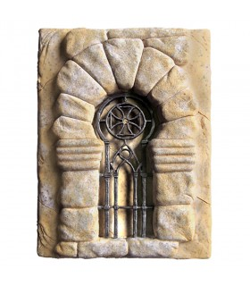 Footprint Historic Fence Templar Cross, 20 x 15 cm