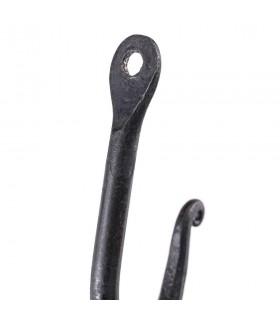 Hook wall wrought iron