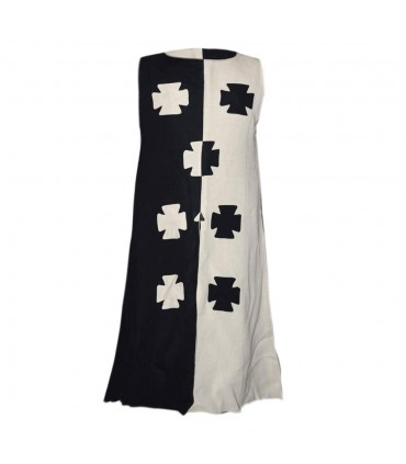 Tunic of the Crusaders in linen