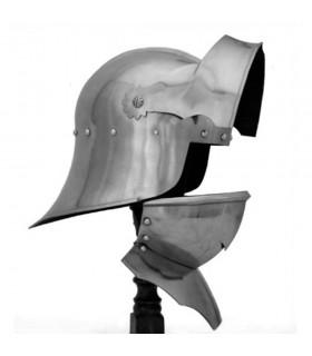 Helmet German Gothic Sallet with Barbote