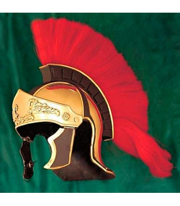 Helmet Greco-roman Crested Red