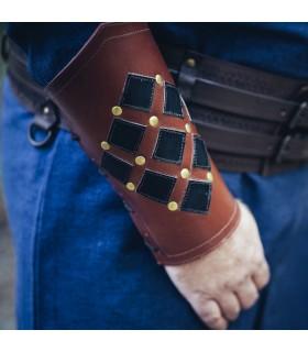 Bracelets, Medieval Brown-Black flat