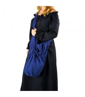 Messenger purse Leti blue