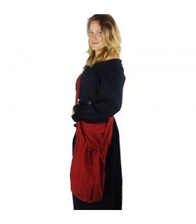 Messenger purse Leti red