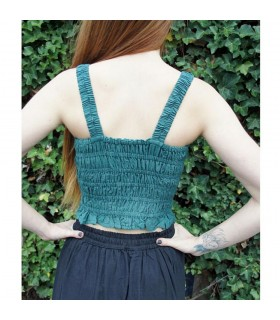 Corset medieval Gothic Melle, green