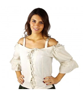 Camisole medieval natural Prina