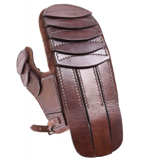 Mitten leather padded fencing and recreation, left hand