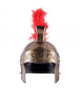 Roman helmet with plume for children