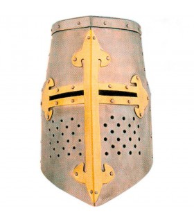 Great Helm knights Templar of the Crusades