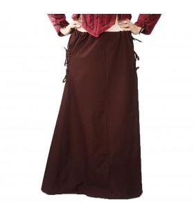 Skirt medieval model, Noita, dark brown