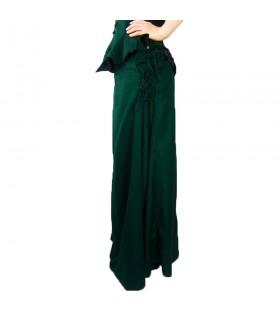 Skirt medieval model, Noita, color green