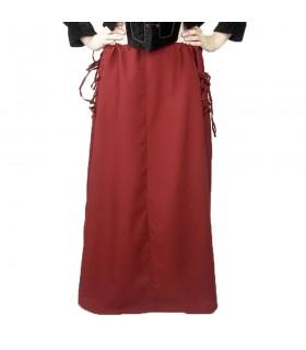 Skirt medieval model, Noita, color red