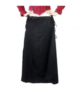 Skirt medieval model, Noita, color black