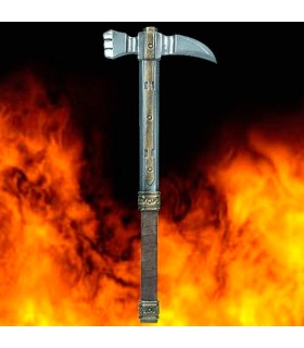 War hammer Agincourt in latex, 68 cm