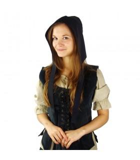 Crespina medieval female model Alex, black