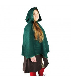 Gugel viking Egill, wool green