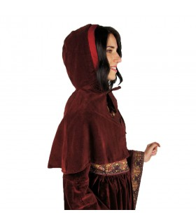 Gugel medieval Noble in velvet