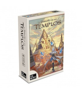 Board game The Challenge of the Temples, in Spanish