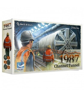 Board game Channel Tunnel 1987, in English