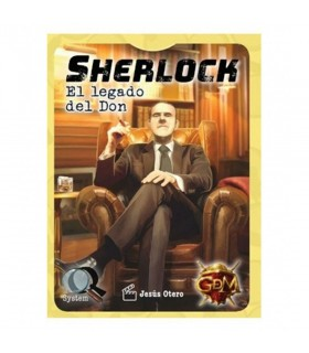 Board game Sherlock the Legacy of the Gift, in Spanish