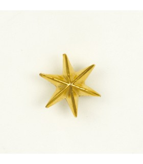 6-pointed star metal for uniform