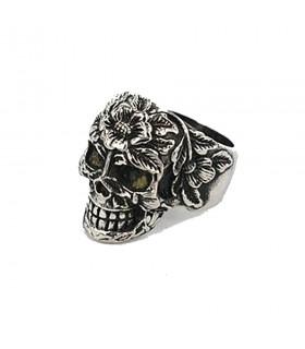 Ring skull Steam Punk