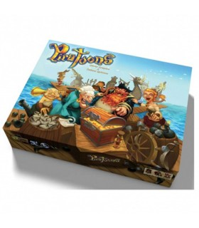 Board game Piratoons, in Spanish