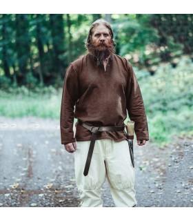 Ivar Viking tunic, dark brown
