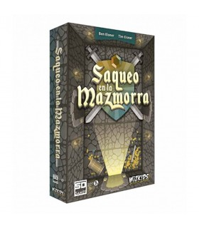 Board game Looting of the Dungeon, in Spanish