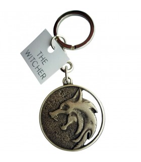 Keychain wolf Geralt of Rivia The Witcher, NOT official