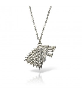 Pendant Wolf with chain