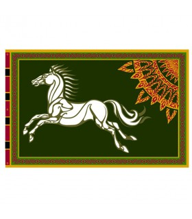 Flag-Banner of Rohan, the Lord of The Rings