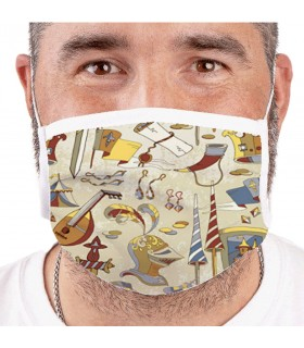 Mask Medieval Reusable-Rated (for adults)