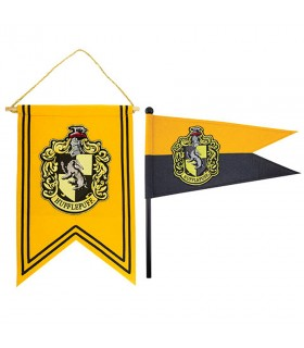 Flag and banner Hufflepuff from Harry Potter