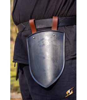 Escarcelas medieval Squire, black finish