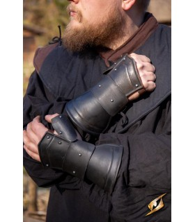 Gauntlets Scouts Medieval, black finish