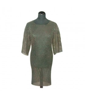 Chainmail warrior medieval