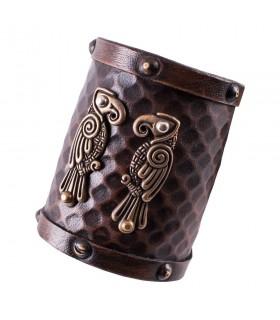Bracelet Nordic ravens Hugin and Munin