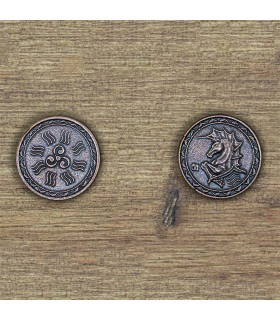 Currency of the Water, Atlantis, bronze finish