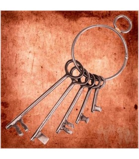 Set of keys to the Dungeon Medieval