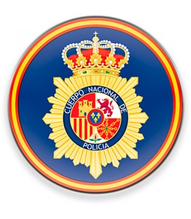 Magnet National Body of the Spanish Police CNP for fridge