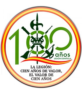 Magnet Legionaries, a hundred years of value, for fridge